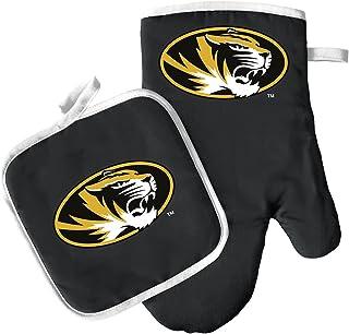 Pro Specialties Group 烤箱手套和锅架套装 – 烧烤厨房后院 – NCAA – 密苏里大学老虎队