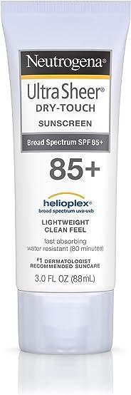 Johnson & Johnson 强生 Neutrogena 露得清 超透明干性防晒乳液,抗水不油腻,带SPF 85,3盎司(88毫升)