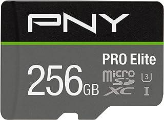 PNY U3 PRO Elite MicroSD 卡 - 64GB - P-SDU64GU395PROE-GEP-SDUX256U395PRO-GE 256GB