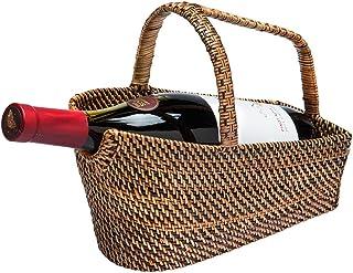 KOUBOO Rattan-Nito *瓶篮和洗衣机,棕色