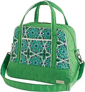 cinda b Traveling Bowler, Verde Bonita, One Size