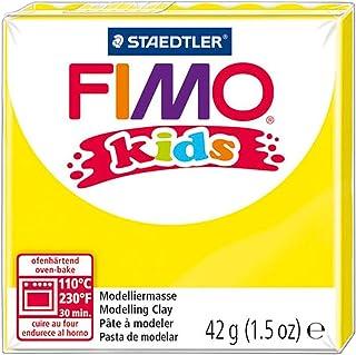 Staedtler Fimo 儿童烤箱模塑胶带,1.5 盎司,黄色