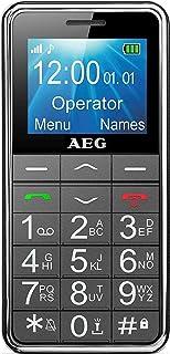 手机 | AEG Voxtel M250 老年人手机带大按键和无合同 | 带求救按钮和手电筒