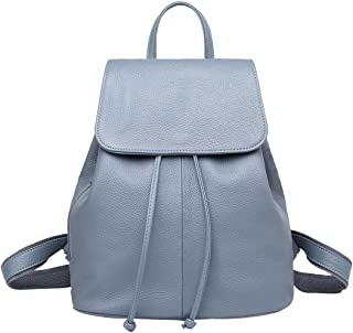 BOYATU 真皮背包钱包女士防盗旅行帆布背包轻质时尚书包