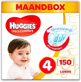 HUGGIES 尿布超舒适婴儿尺寸4月 Box , 1包装 ( 1 x 150件 )