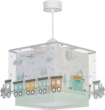 Dalber The Night Train 儿童吊灯,塑料,60W,彩色