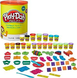 Play Doh 大罐 20个小麦粘土和45种道具套装 B8843 Hasbro キャニスター