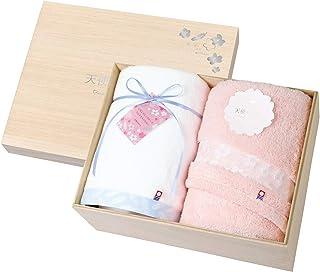 托库达毛巾礼盒套装 天使的樱花 今治 木箱装 天使のさくら7 今治 木箱入り 62010