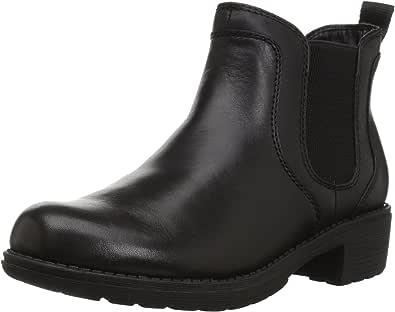 Eastland Shoe 女 中筒靴DOUBLE UP 3523-01M060 黑色 US6 Euro37