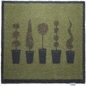 Hug Rug T140 Eco-Friendly Absorbent Dirt Trapping Indoor Washable Mat Topiary Trees 25.5-Inch x 33.5-Inch