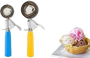 Cookies 冰淇淋勺舒适抓握手柄 Yellow Blue