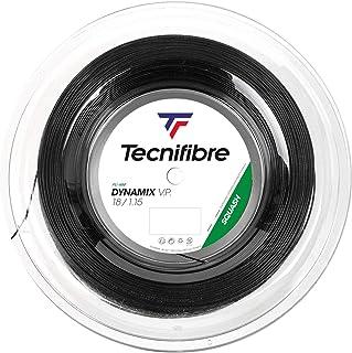 Tecnifibre(Tecnifibre) 壁球用制动器、牙刷1.15mm 200m、DNAMX 1.15 TF DN115R 黑色 200m