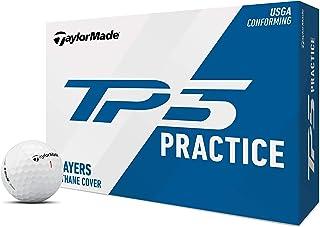 TaylorMade TP5 高尔夫球,练习打,白色