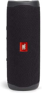 JBL FLIP5 音乐万花筒五代 便携式蓝牙音箱 低音炮 防水设计 支持多台串联 户外迷你音箱 夜空黑
