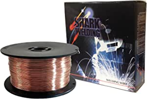 Shark Welding 12002 Mild Steel Mig Wire ER70-S6.030-2 磅 线轴 2-lb Spool 12002