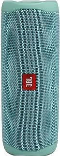 JBL FLIP5 音乐万花筒五代 便携式蓝牙音箱 低音炮 防水设计 支持多台串联 户外迷你音箱 荧光绿