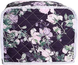 2 片烤面包机盖,面包机保护套袋,面包烤面包机烤箱盖,厨房小家电整理袋盖,女式厨房机器保护套(Floral#3)