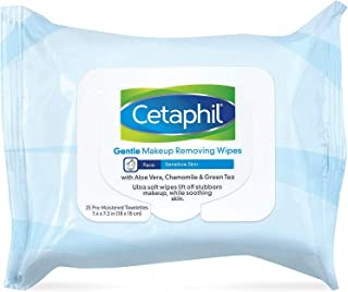 Cetaphil 温和卸妆湿巾,25 片