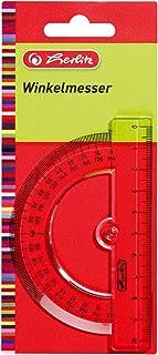 Herlitz 三角尺 & 直尺 Winkelmesser 10 cm