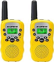 BaoFeng BF-T3 儿童玩具对讲机迷你双向收音机适合 3-12 岁男孩女孩儿童 UHF 22 声道圣诞生日礼物
