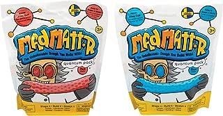 有型玩耍 Mad Mattr 超柔模制面团,*干燥,包装/2 个 20 盎司(10 盎司蓝色,10 盎司红色)