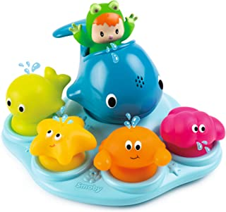 Smoby 110608 卡通 趣味 洗浴岛 玩具