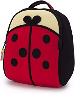 Dabbawalla Bags Cute as a Bug Ladybug Kids' Preschool & Toddler Backpack Red/Black