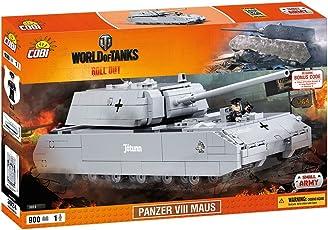 COBI 3024 Panzer VIII Maus 建筑玩具