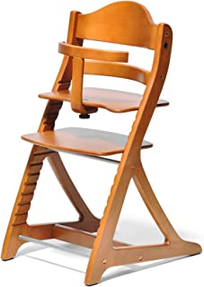 大和屋 角落椅子 细长加 带护具 [対象] 7ヶ月 ~ 浅棕色