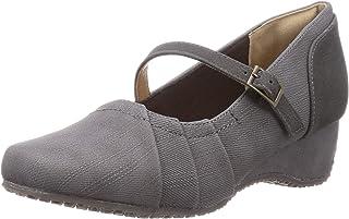 TEN 浅口鞋 TN110_GRY/C_23 女士 灰色组合 23.0 cm 3_e