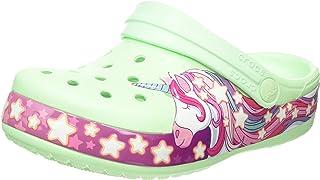 Crocs 卡骆驰 Funlab Unicorn Band 儿童洞洞鞋