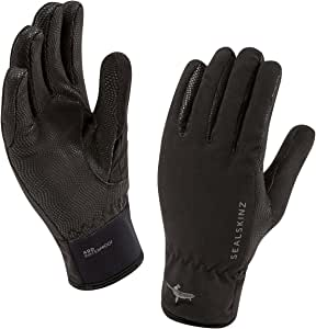 SEALSKINZ * 防水男士手套 - 防风透气 - 适合各种天气条件下的所有活动