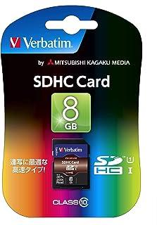 三菱化学媒体 Verbatim SDHC存储卡 8GB Class10 SDHC8GJVB2