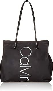 Calvin Klein Mallory 尼龙北部和南垂直品牌手提袋