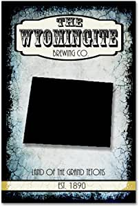 Trademark Fine Art States Brewing Co Wyoming by LightBoxJournal 22x32 ALI10242-C2232GG