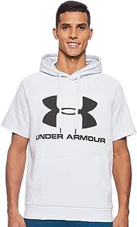 Under Armour 安德玛 Rival Fleece Logo 男士短袖连帽衫
