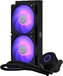 Cooler Master MasterLiquid ML240 Lite V2 RGB USB QWERTZ 德文 黑色