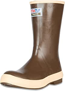 "XTRATUF Legacy Series 12"" Neoprene Men's Fishing Boots, Copper & Tan (22172G)"