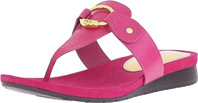 Lauren Ralph Lauren Laurence 女士高跟凉鞋 Geranium Kidskin 8.5 M US