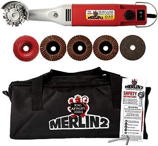 King Arthur Tools 10005 Merlin 2 迷你研磨机雕刻套件