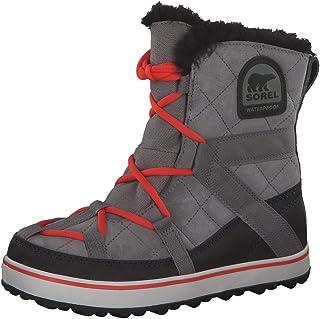 sorel 女式 glacy EXPLORER shortie 雪地靴