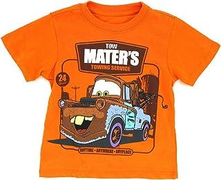 Disney 汽车总动员男童短袖 T 恤(幼儿)