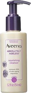Aveeno Absolutely Ageless 活性天然滋养洁面乳,5.2 液盎司 - 12 个每箱