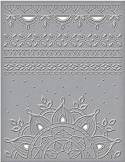 Spellbinders CEF-028 Delhi 切割浮雕文件夹,磨砂