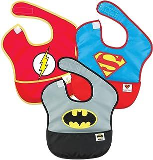 bumkins 防水超级围嘴3件装6–24个月 ) DC Super Friends 6-24 个月