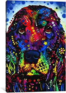 "iCanvasART Cocker Spaniel II Canvas Print by Dean Russo, 40"" x 26""/0.75"" Deep"
