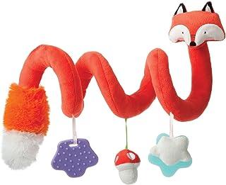 Manhattan Toy 曼哈顿玩具 旅行+ 舒适 婴儿螺旋狐狸活动玩具