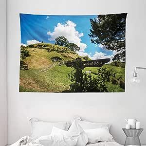 ambesonne HOUSE 装饰系列,卧室客厅宿舍壁挂 tapestries ,多色