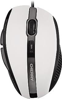 CHERRY MC 3000 5 键式 USB 光电鼠标 - 灰
