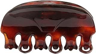 Caravan 非金属橡胶弹簧玳瑁凹毛发爪,0.5 盎司